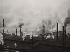 Steel and Smoke, Pittsburgh, Pennsylvania 1926, by E.O. Hoppe