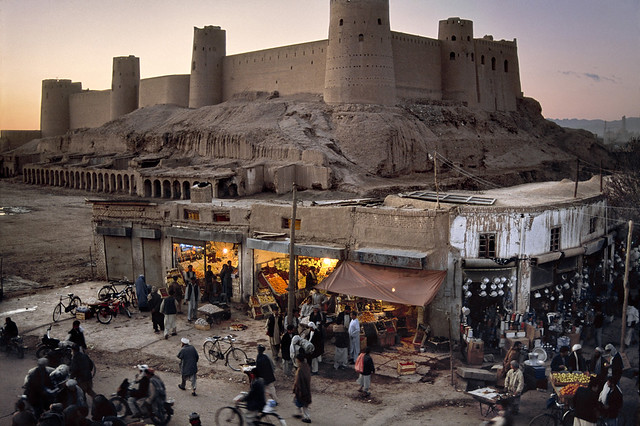 Bala Hisar Fort, Herat, Afghanistan, by Steve McCurry 2002