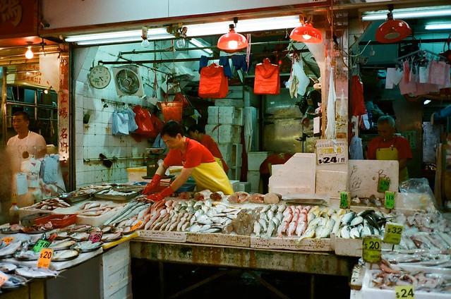港島傳統市場的魚販 | Flickr - Photo Sharing! Vanessa