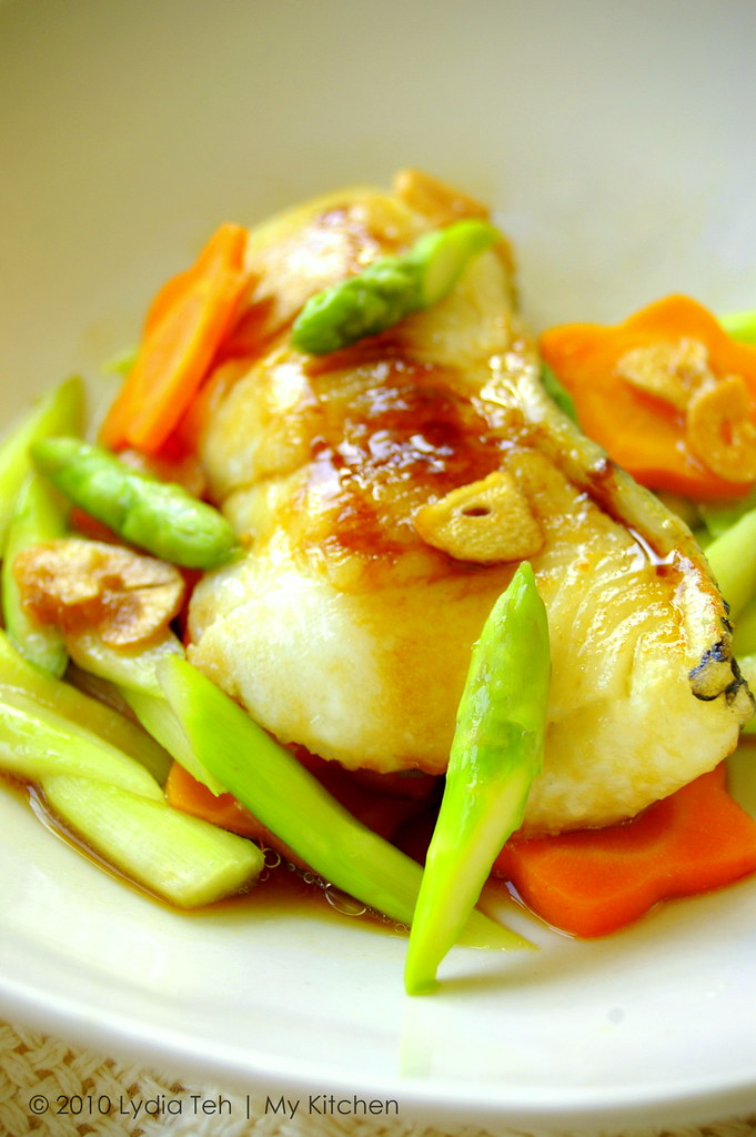 My kitchen grilled cod fish y3k recipes issue no 53 for Cod fish recipes