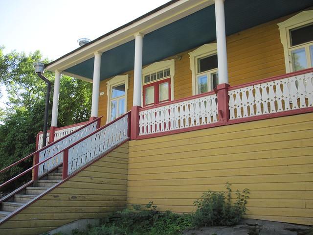 La casa de uno de los habitantes permanentes de las islas