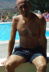 barechestedness, male, man, muscle, chest hair, swimmer,