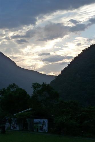 morning vacation holiday clouds sunrise tarokogorge leaderhotel leadervillage bruwan taiwantaroko tarokogorgenationalpark villagetaroko