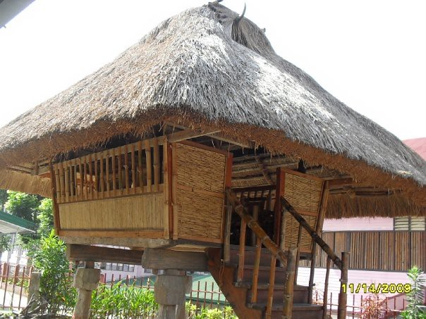 Bahay kubo ifugao style flickr photo sharing for Terrace ng bahay