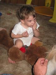 Baby Beats Bear