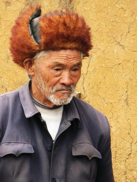 Most awesome hat - Baisha, near Lijiang, China