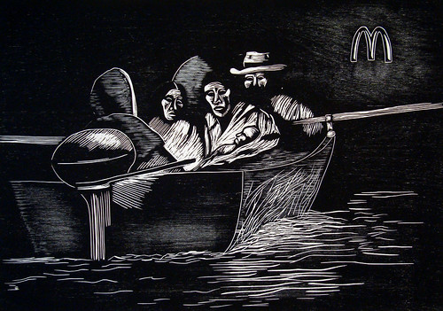 The Refugees (after Larraz)