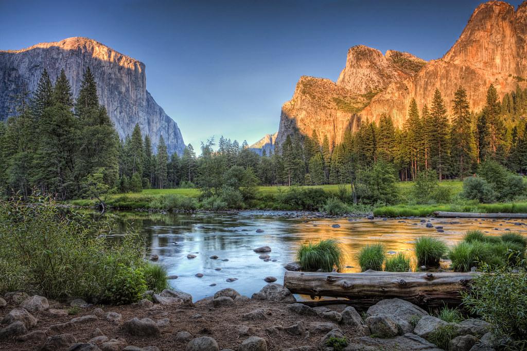 Elevation of Yosemite National Park, California, United States ...