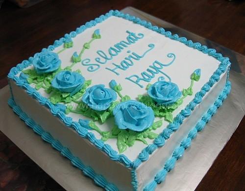 Cake Images With Name Hari : Kek Hari raya happyninie