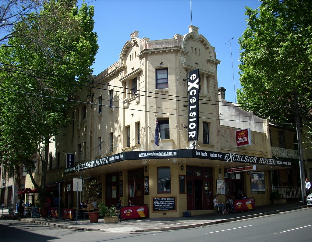 Excelsior Hotel, Surry Hills, Sydney, NSW