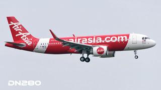 Air Asia A320-2511N msn 7719