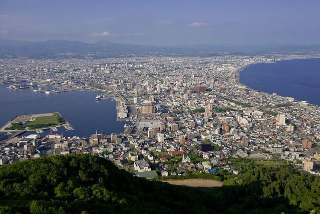 函館 Hakodate Cityscape from Mt Hakodate