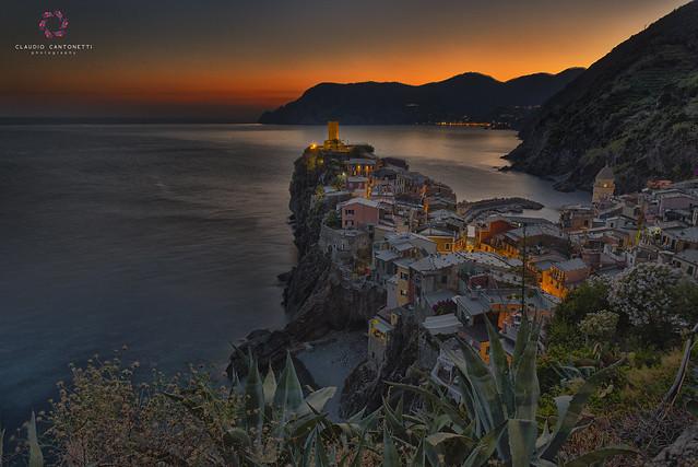 Magic Light in Vernazza