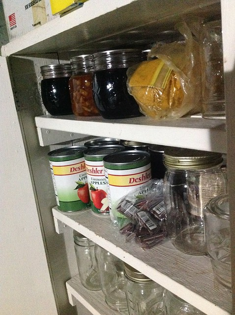 The cupboard is woefully empty for this time of year