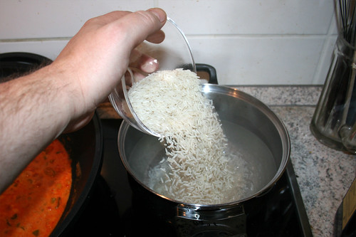 40 - Reis kochen / Cook rice
