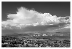 thunderstorm over the bodie hills