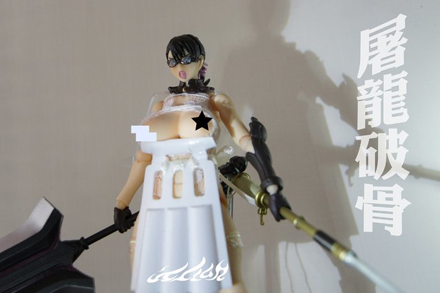 """Photo:28  """"Armor design"""" for revoltech """"Queen's blade"""" Cattleya Katrea リボルテックQB  リボルテック 武器屋 カトレア By Skinning Bear"""