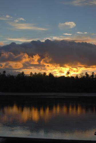 sunrise polynesia southpacific cookislands rarotonga murilagoon sokalavillas