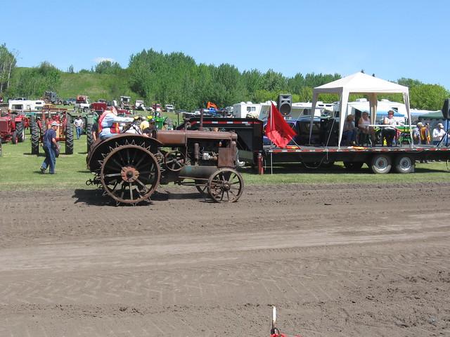 Old Tractor Steel Wheels : Antique steel wheel tractor flickr photo sharing