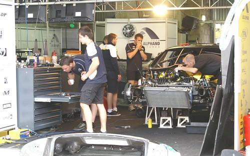 Luc Alphand Aventures - Corvette C6R