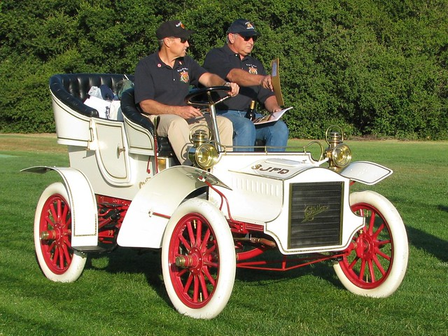 1905 Cadillac SJFD  Fire Chief Car 1