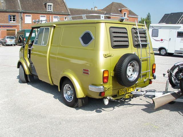 bedford camping car vert olive flickr photo sharing. Black Bedroom Furniture Sets. Home Design Ideas
