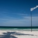 White flag beach: approved for nude yoga by Geoff Churn