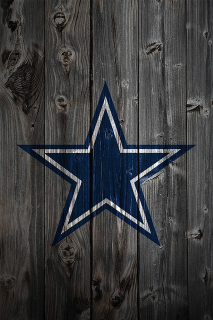 dallas cowboys wood iphone 4 background a photo on