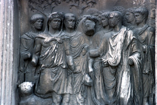 Beneventum, Arch of Trajan (IX)
