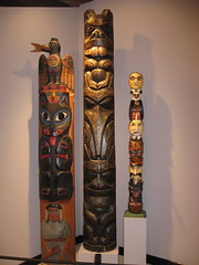 carving, art, sculpture, tiki, totem,
