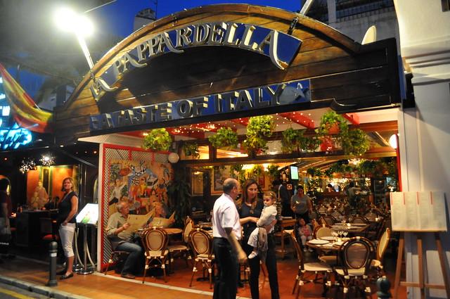 Restaurante la pappardella puerto banus marbella flickr photo sharing - Zoom pizza puerto banus ...