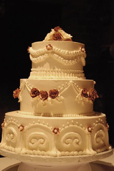 3 tier Italian Buttercream Wedding Cake Flickr - Photo ...