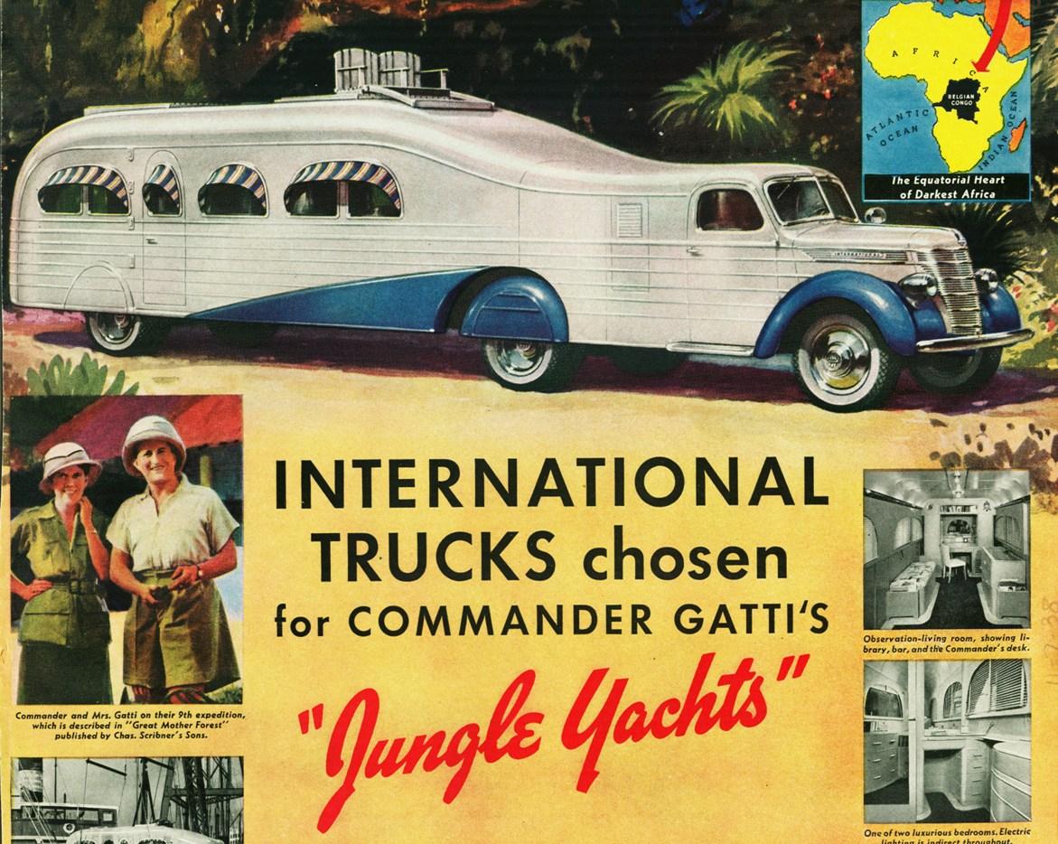 1939 International Jungle Yacht Truck Commander Gatti