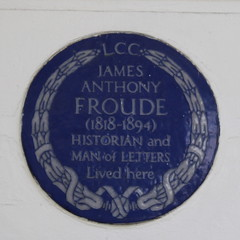 Photo of James Anthony Froude blue plaque