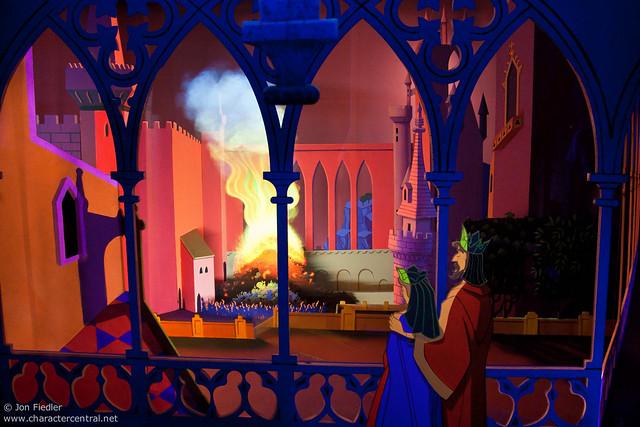 Disneyland Aug 09 - The Sleeping Beauty Castle Walkthrough