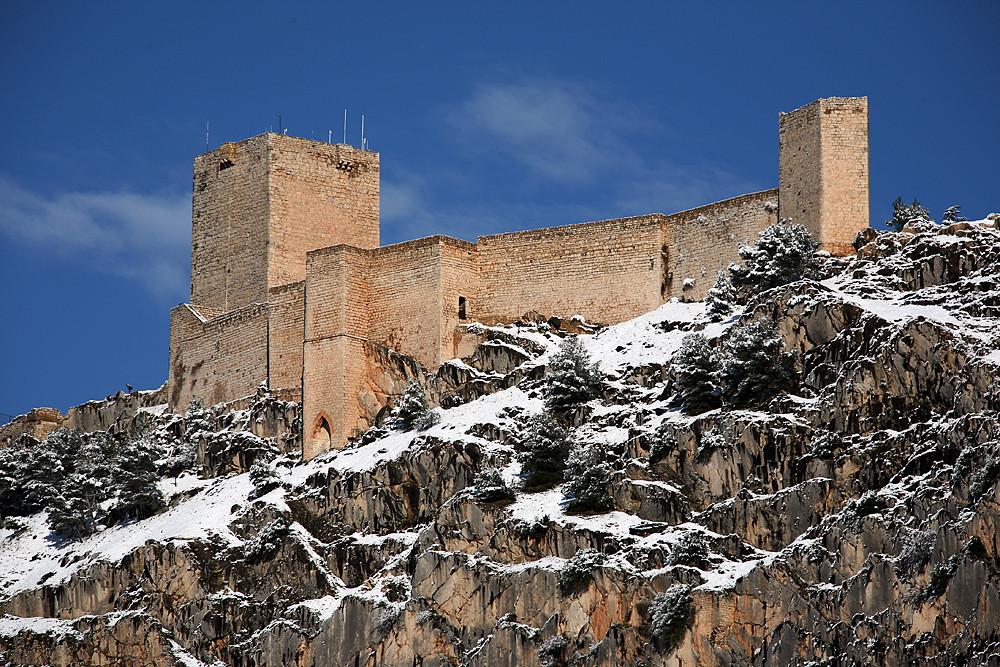 Alcázar Nuevo época cristiana del Castillo de Santa Catalina