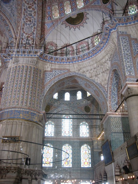 Tiles and Domes and Stained Glass