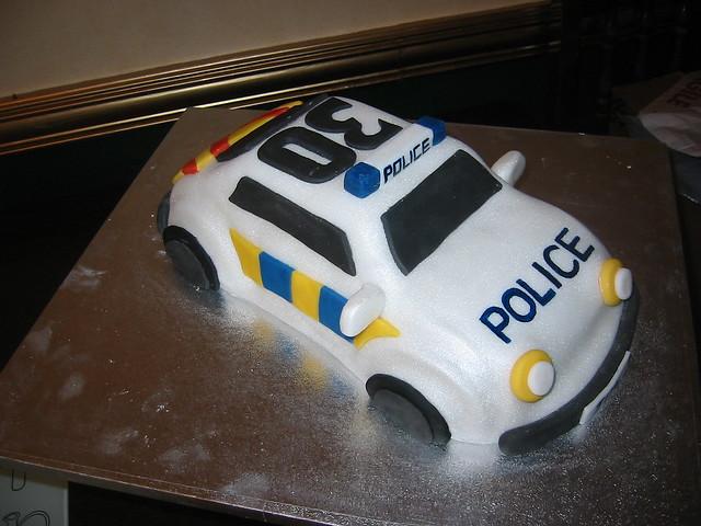 Cop Car Cake Pan