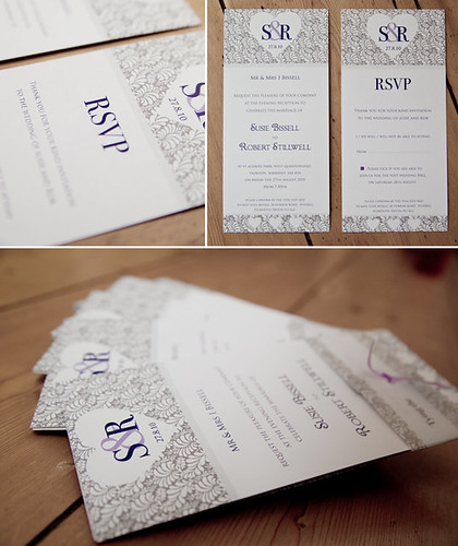 Rob and Susie Wedding Invites