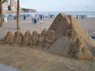 SNOW WHITE AND THE SEVEN DWARFS - BENIDORM, SPAIN