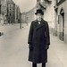 Anton Räderscheidt, by August Sander 1927 Bismarckstraße in Cologne, at 6am when the streets were empty, and in his usual attire looking like one of his own props