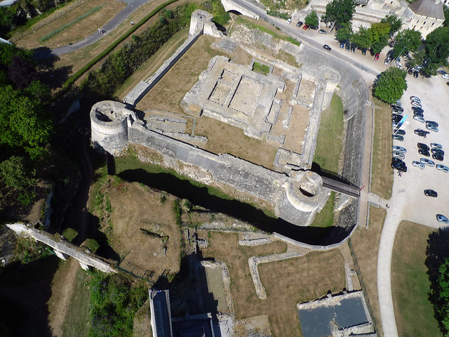Donjon du château de Caen (Calvados-FR)