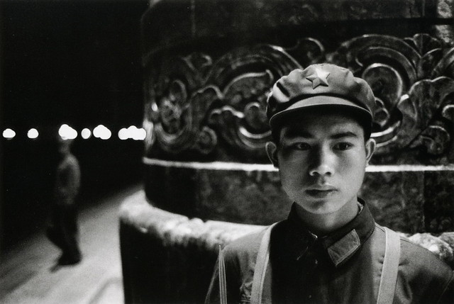 Beijing, by Marc Riboud 1971