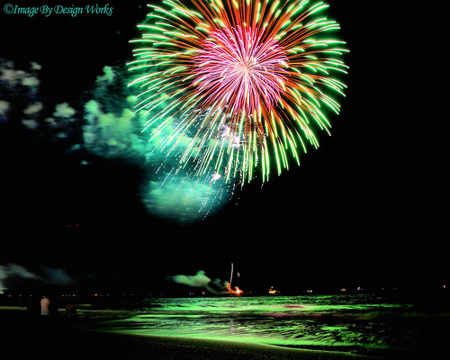 newjersey colorful fireworks nj atlanticcity 4thofjuly independenceday thestarspangledbanner imagebydesignworks
