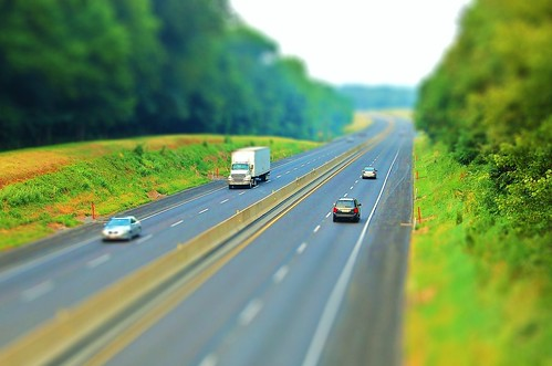 PA Turnpike tilt-shift