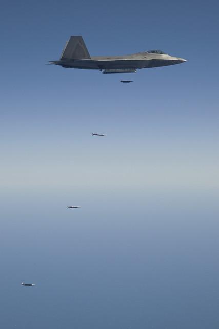 F-22 Small Diameter Bomb Release