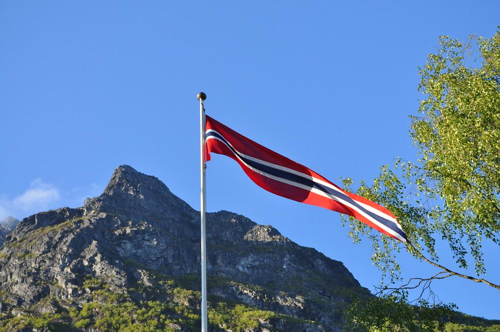 Norwegian flag / Norsk vimpel