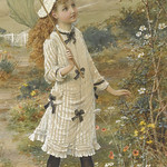 "William Stephen Coleman (1829-1904), ""The Butterfly Catcher"""