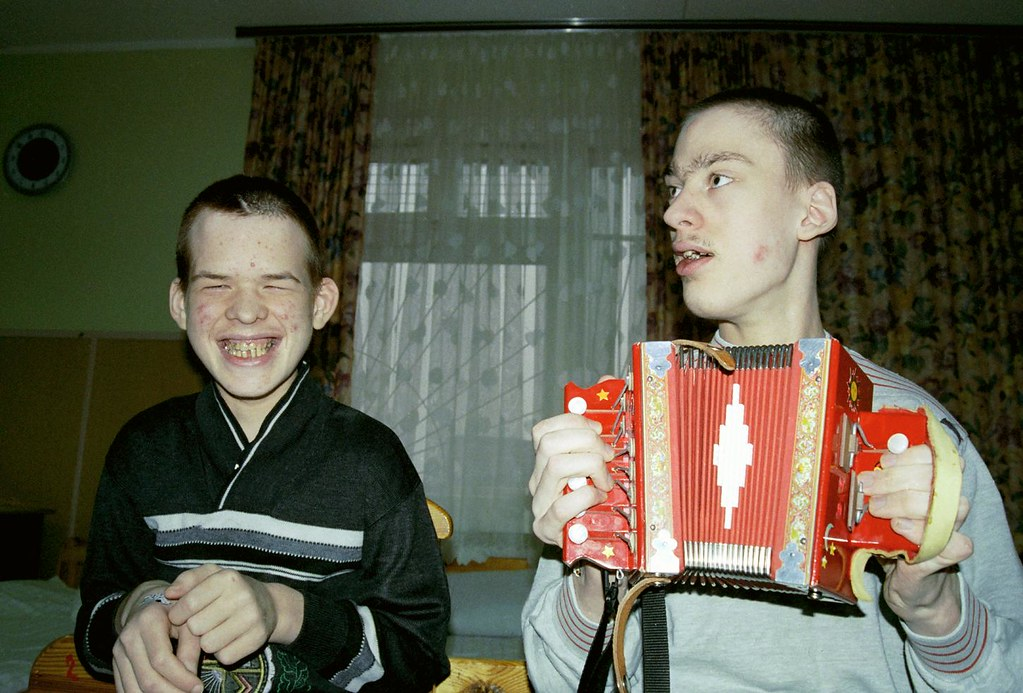 Boys 1(John Glick/Russia Clown Trip 2004)