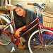 Girl mechanics : assembling a new bicycle by Smallest Forest